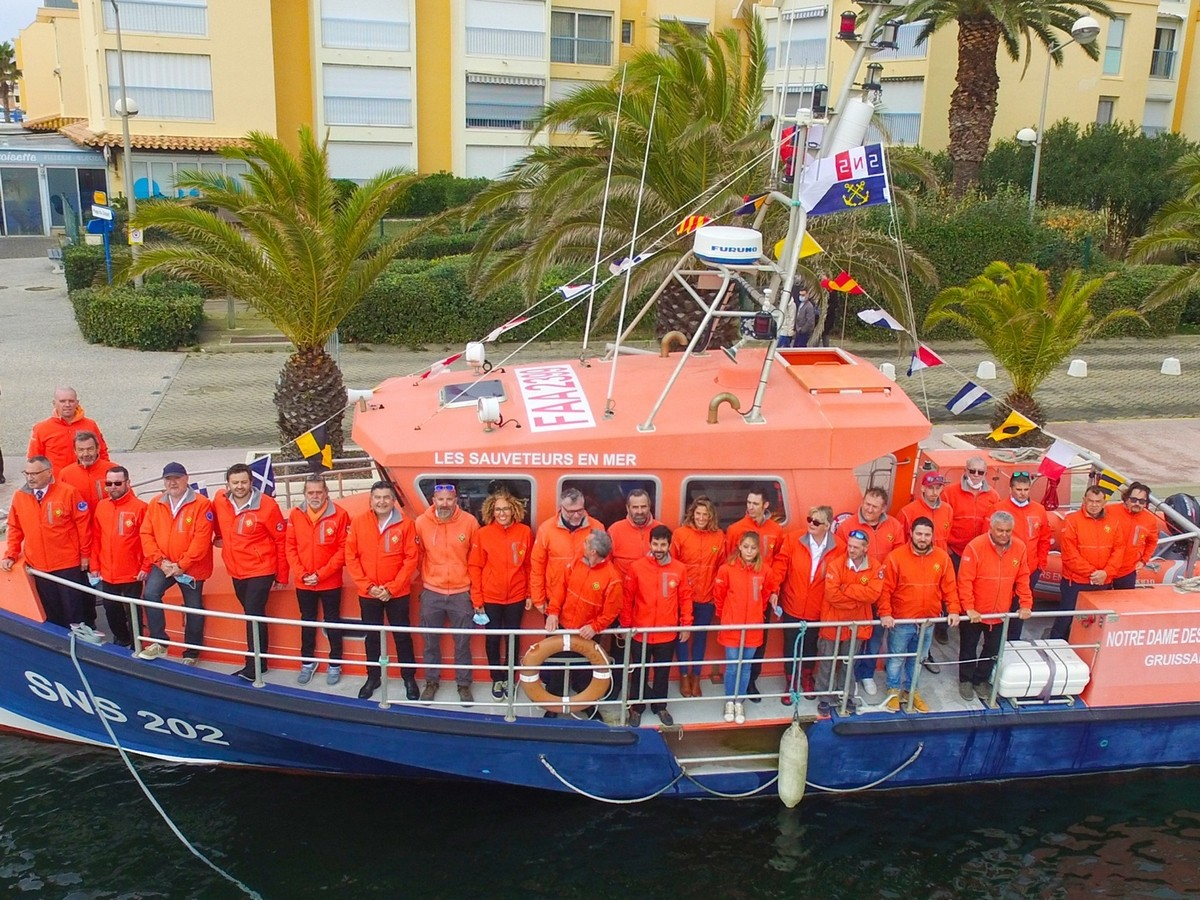 Snsm - Vedette Sauvetage En Mer Notre Dame Des Auzils 3