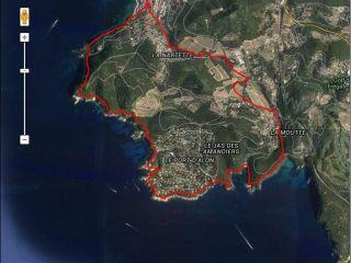 Agglo GR Saint Cyr sur Mer - sentier littoral