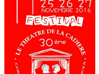 Festival de Théâtre Partie I : 17-18-19/11