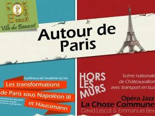 Autour de paris... Les transformations de Paris sous Napoléon III et H