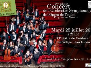 L' Orchestre symphonique de l'opéra de Toulon en concert !