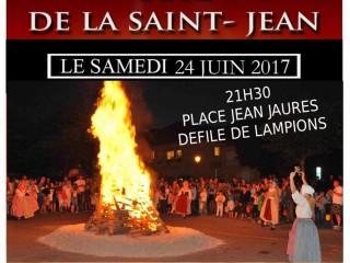 Fête de la Saint Jean le 24/06 à 21h30