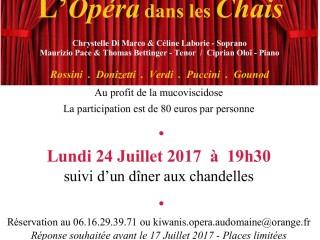 Opéra dans les Chais 24/07-19h30