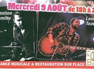 Concert avec Sébastien Lhermitte et Laurent Teatino