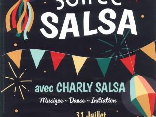 Soirée Salsa 31/07 20h-00h