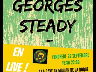 Concert de Georges Steady/Rock reggae et chansons de Georges Brassens