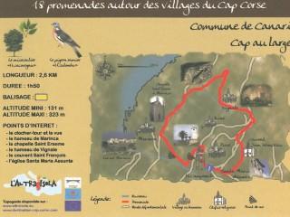 Balades thématiques du Cap Corse /Canari