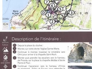 Randonnée - Balade : Les Chapelles - Canari
