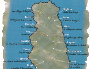 18 promenades à thème : CAP CORSE inconnu...