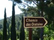 Chemin des oratoires Le Beausset