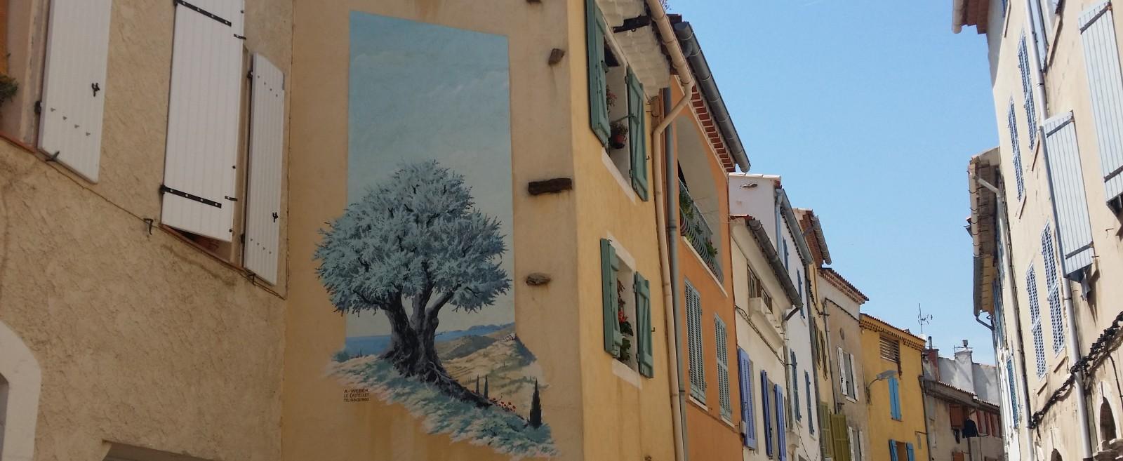 Fresque murale/L'olivier
