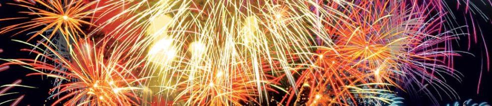 Les Nuits d'Or-Feu d'artifices pyromélodique
