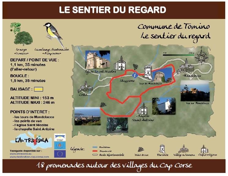 Cap Corse Inconnu : 18 - Sentier du Regard - Capicorsu