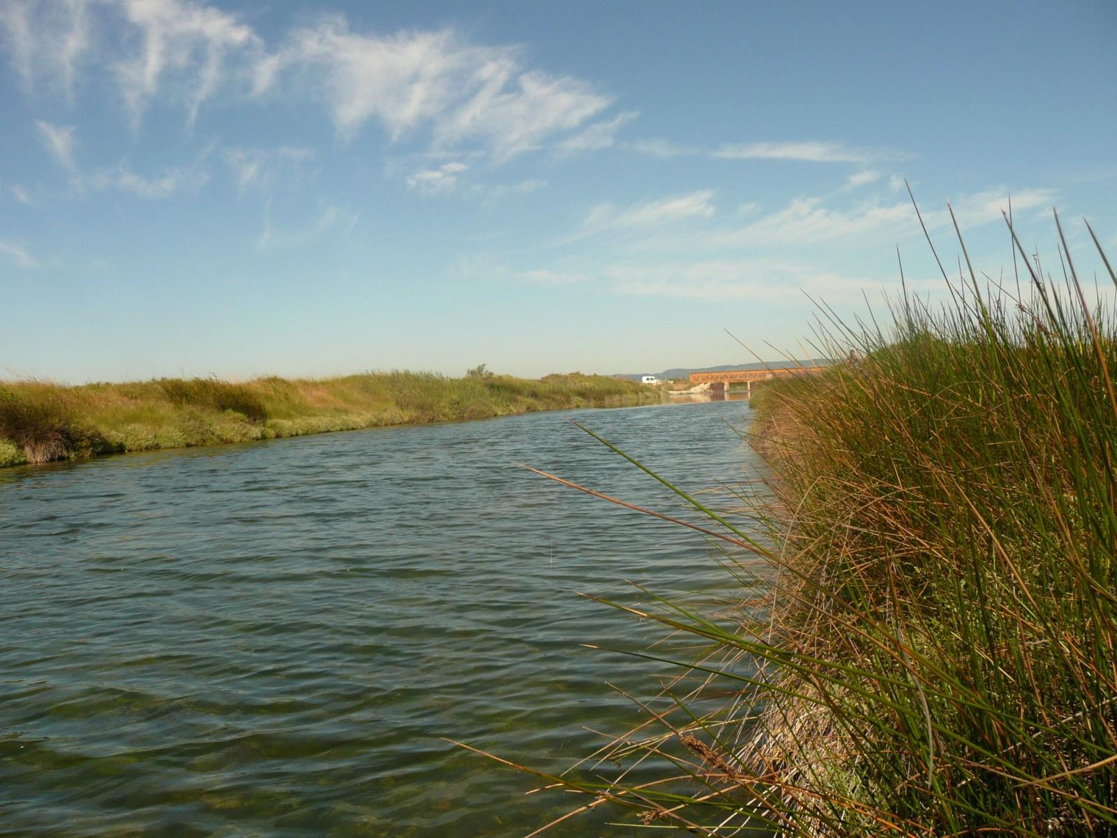 Le canal Ste Marie