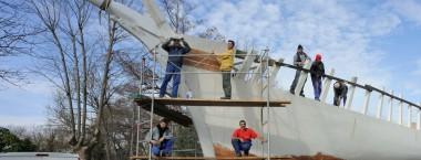Découvrez l'art de la charpenterie de marine