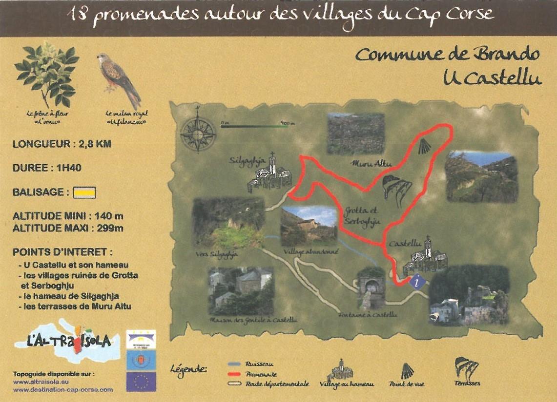 Cap Corse Inconnu : 2 - U Castellu - Capicorsu