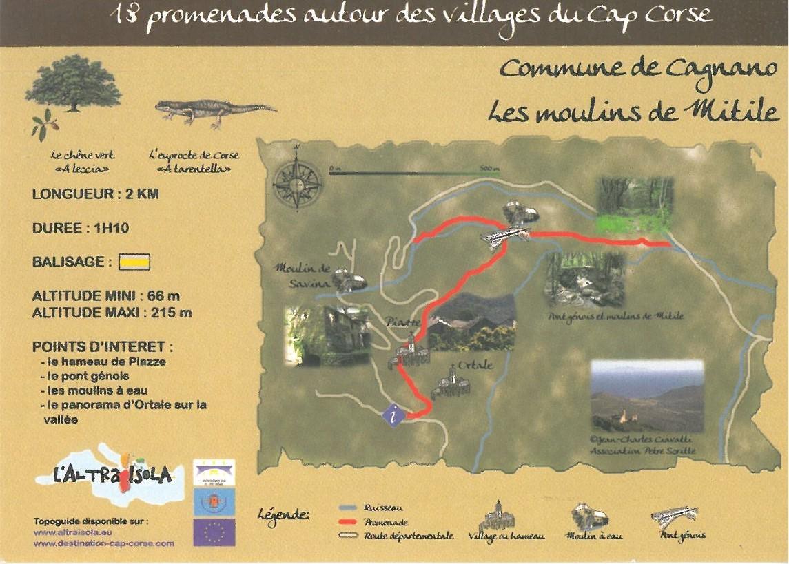 Cap Corse Inconnu : 3 - Les Moulins de Mitile - Capicorsu