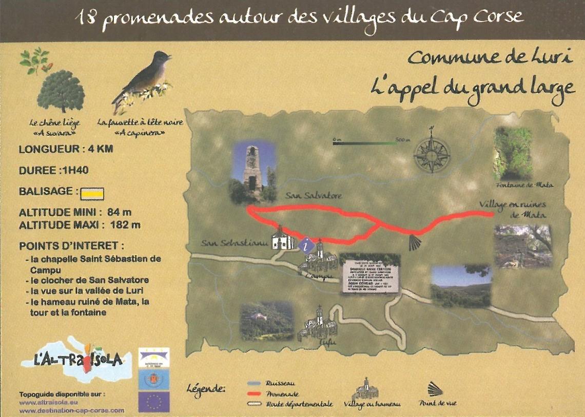 Cap Corse Inconnu : 7 - L\'appel du grand large - LURI