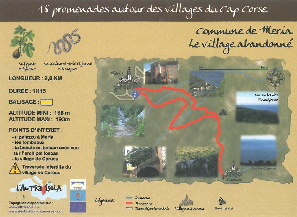Cap Corse Inconnu : 8 - Le village abandonné - Capicorsu