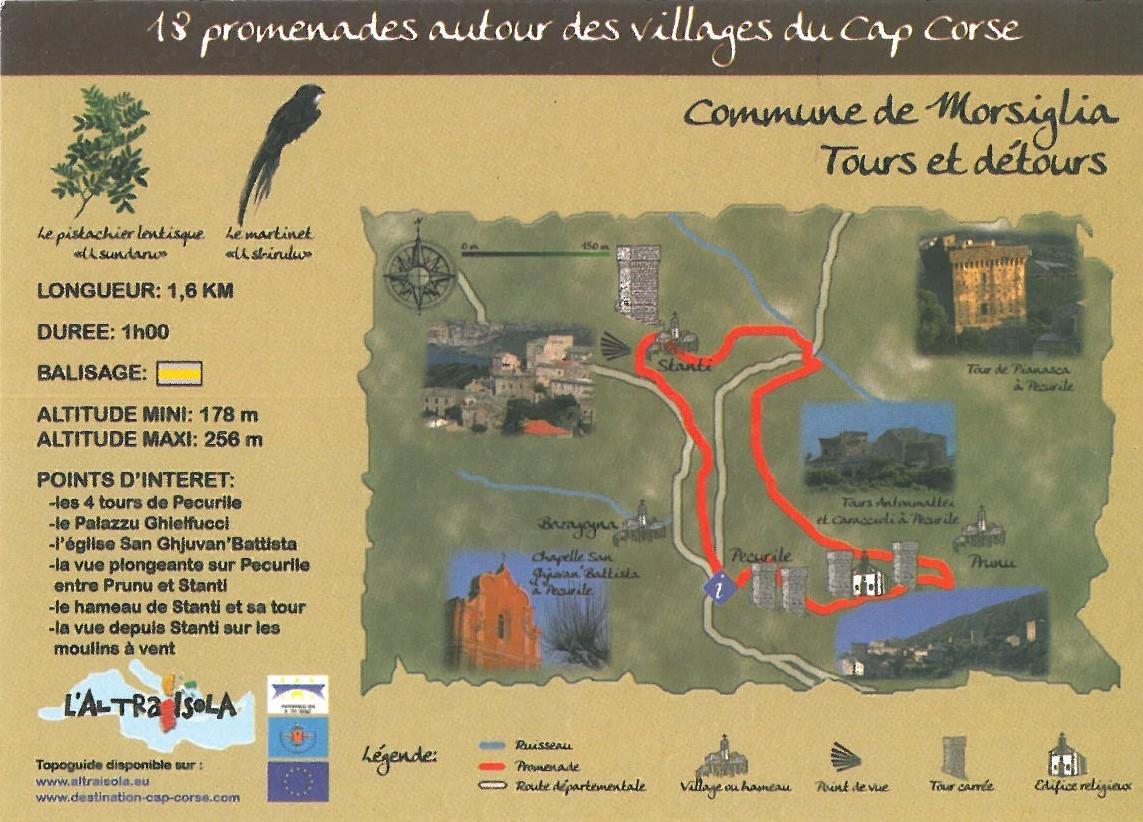 Cap Corse Inconnu : 9 - Tours et détours - Morsiglia
