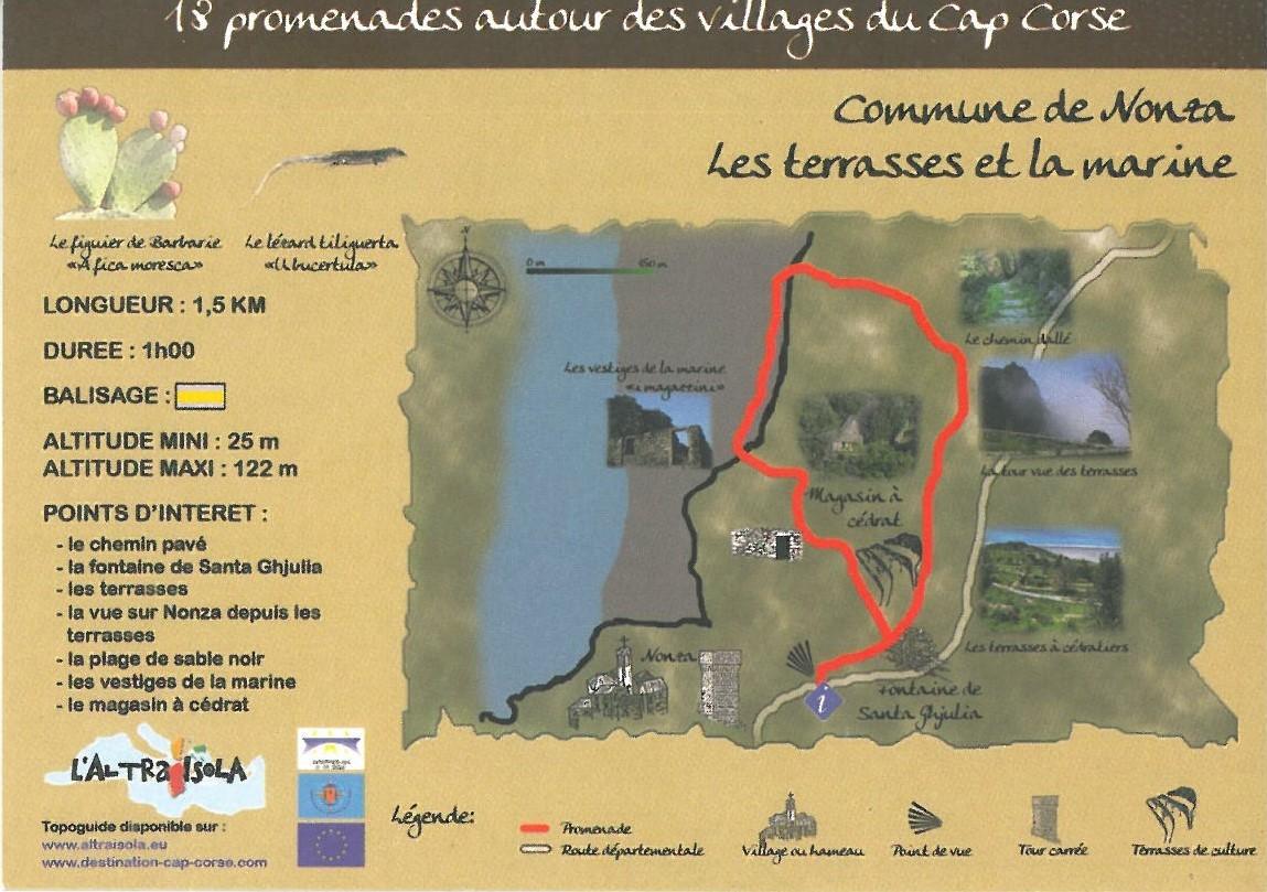Cap Corse Inconnu - Les Terrasses et la Marine - Cap Corse Capicorsu