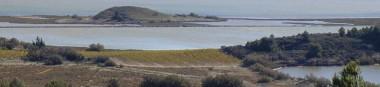 Point de vue sur la saline d'Estarac