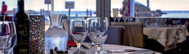 Un restaurant sur la plage