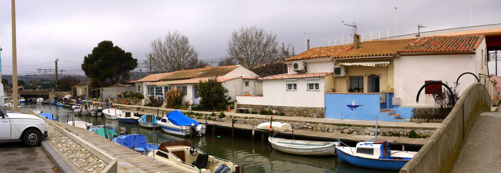 Un quartier de pêcheurs au Canalet