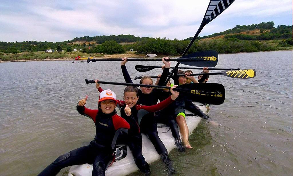 Testez votre équilibre en Stand Up Paddle