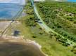 Un panorama sur la lagune depuis le Roc St Antoine- Sainte Lucie