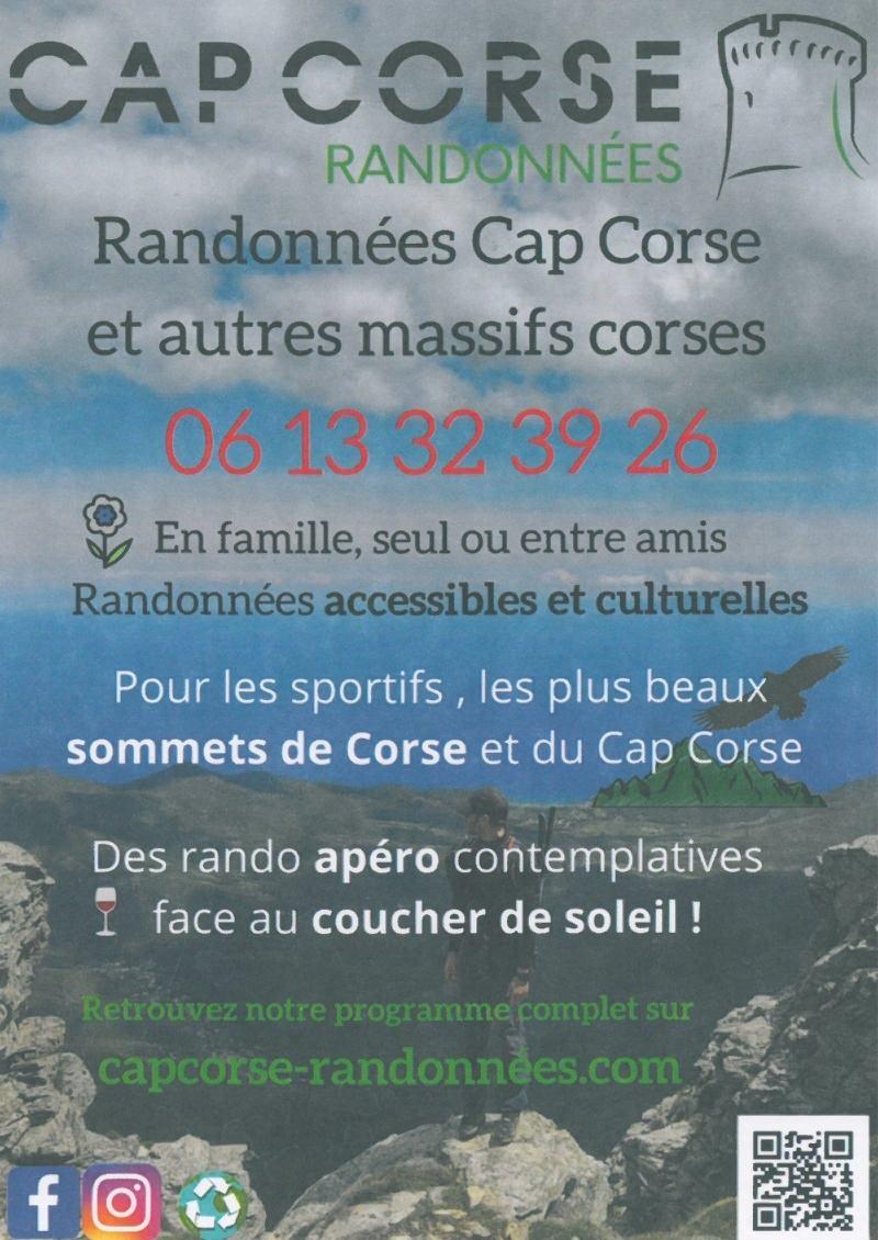 Cap Corse Randonnées - Jérémie Leboeuf Colombani - Ersa - Cap Corse