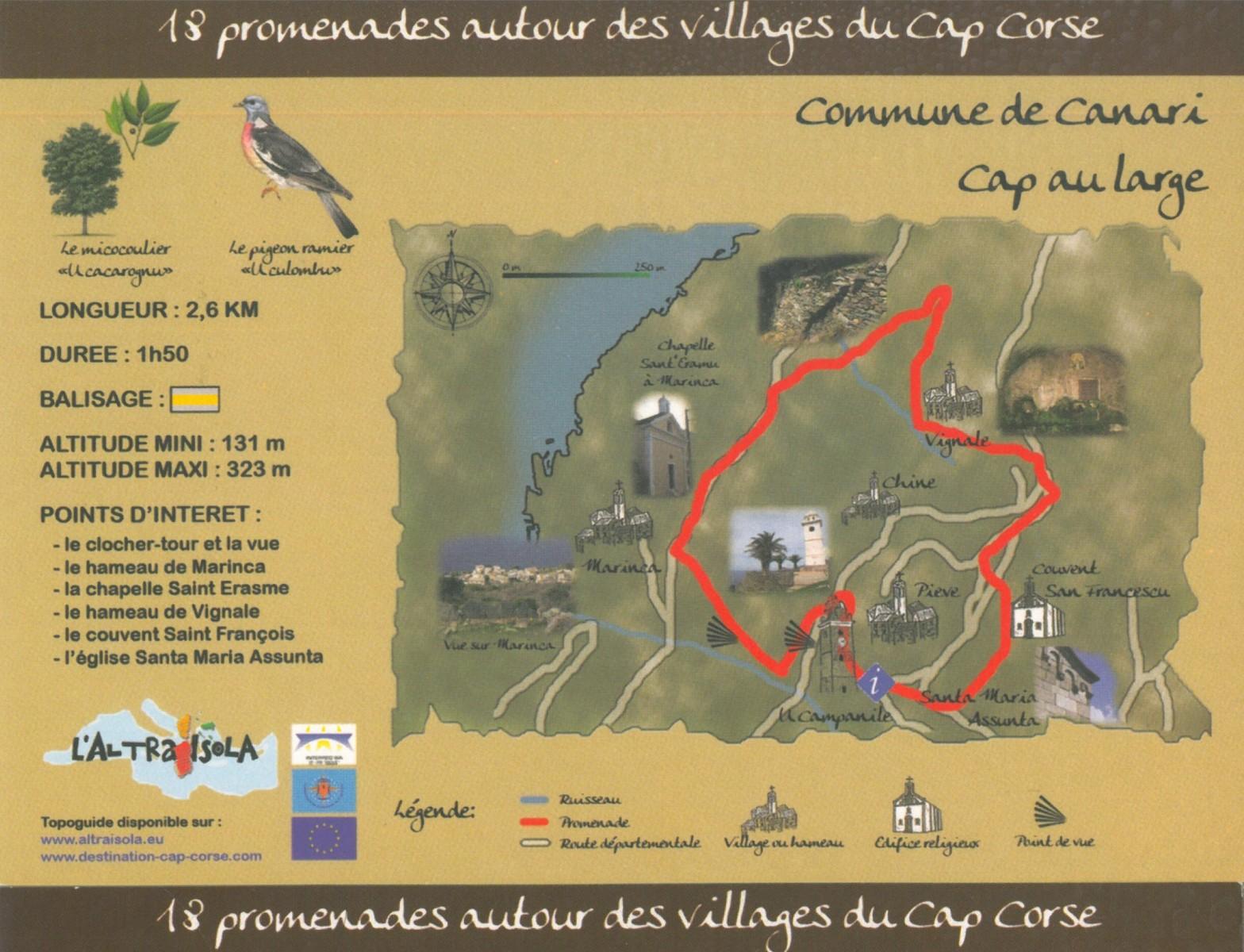 Cap Corse Inconnu : 4 - Cap au Large - Capicorsu