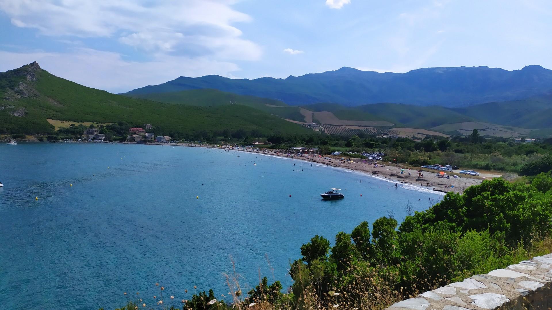 Plage d\'Ampuglia - (Accès PMR) - Cap Corse Capicorsu