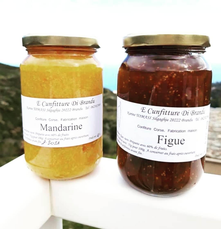 E Cunfitture di Brandu - Silgaggia - Cap Corse Capicorsu