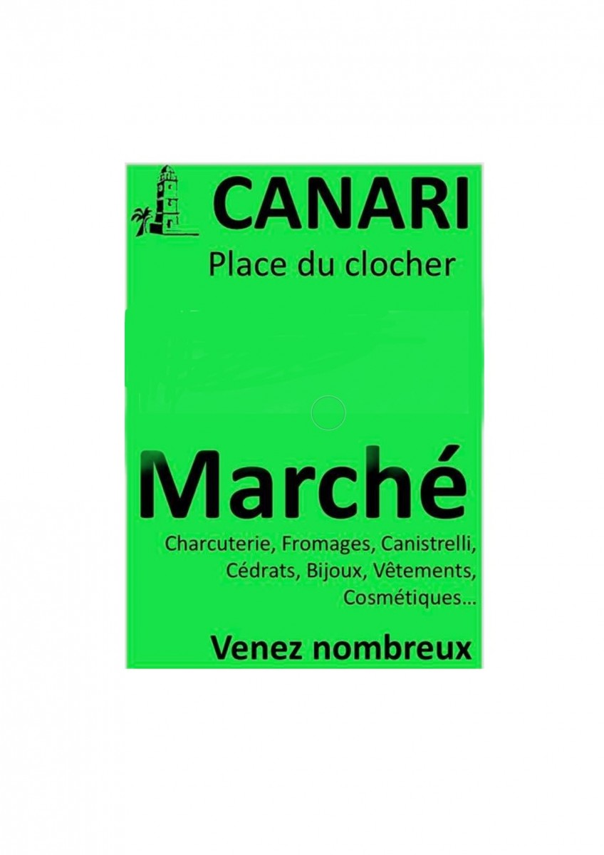 Marché des Producteurs - Canari - Cap Corse Capicorsu