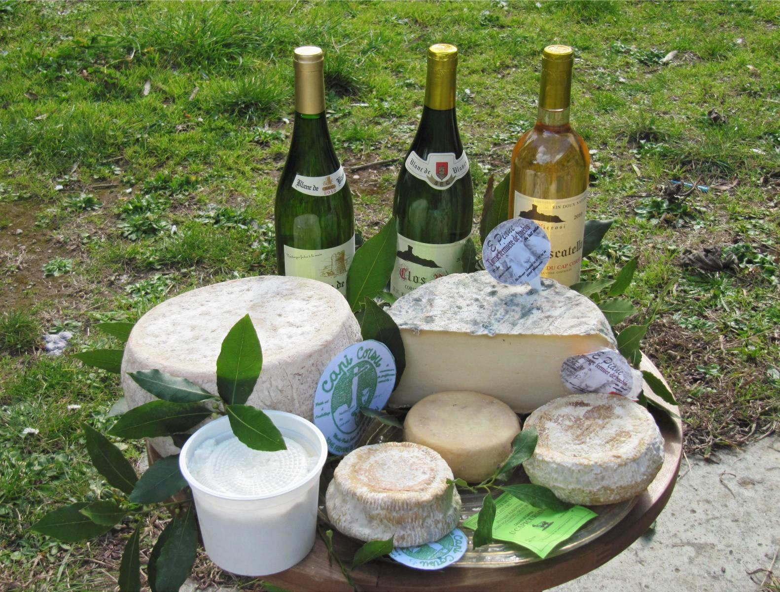 Fromage de Chèvres Sant\'Antoninu - Ersa - Cap Corse