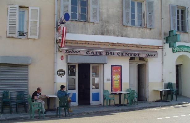 Café du Centre - LURI - Cap Corse Capicorsu