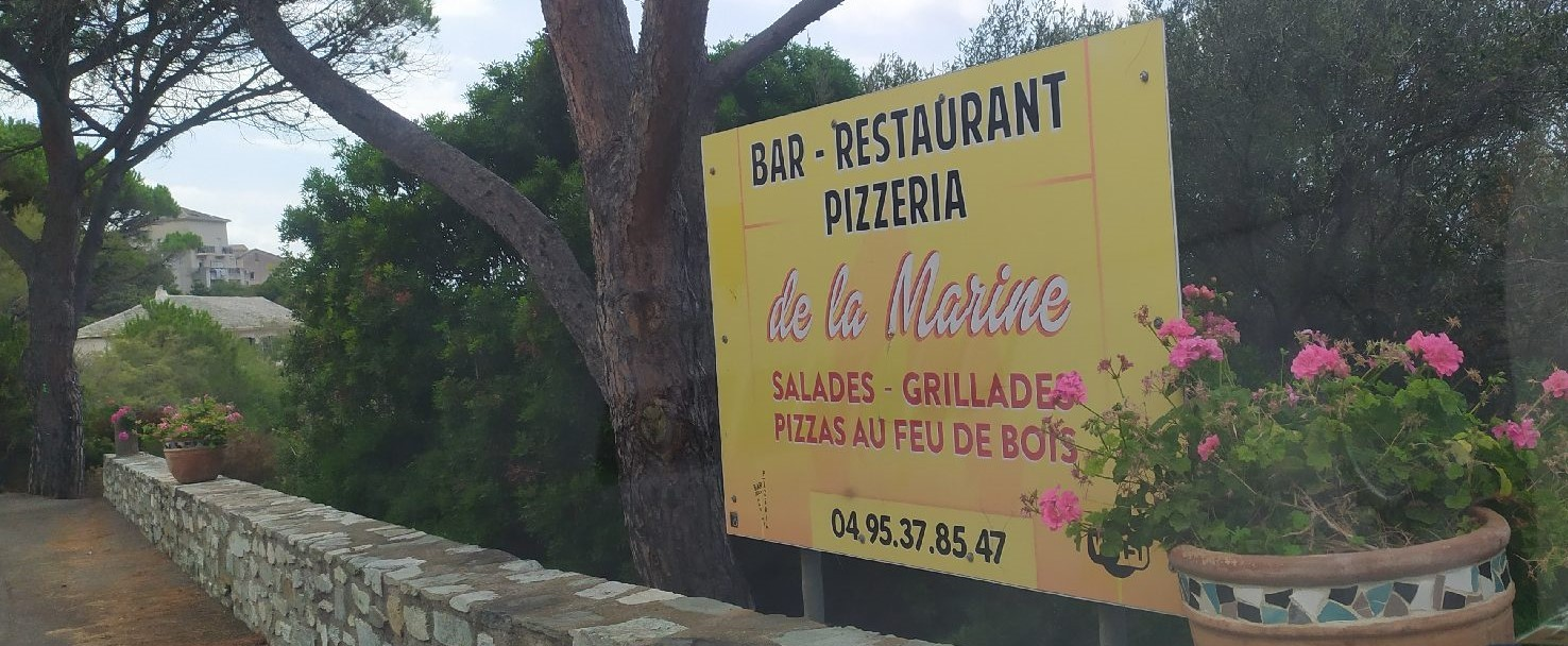 Pizzeria de la Marine - Albo - Ogliastro - Ph. P. S.