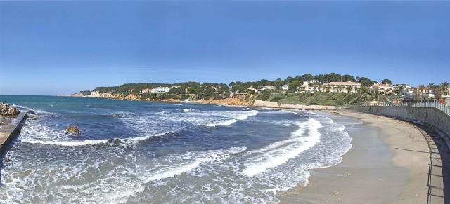Plage de Portissol Sanary sur mer