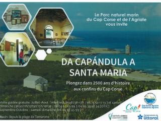 Visite Chapelle St Marie - Macinaggio - Rogliano - Cap Corse Capicorsu