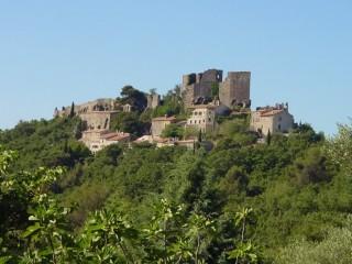 Vieux Village d'Evenos et sa vue panoramique