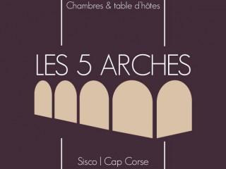 Les 5 Arches - Chambres & Table d'Hôtes - Cap Corse Capicorsu