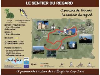 Cap Corse Inconnu - Sentier du Regard - Capicorsu