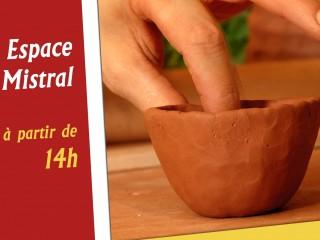 Atelier intergénérationnel de poterie
