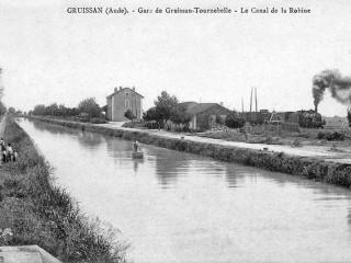 La gare de Gruissan
