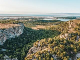 La Clape balcon vert de la Méditerranée