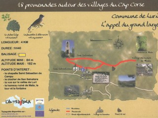 Balades thématiques du Cap Corse /Luri