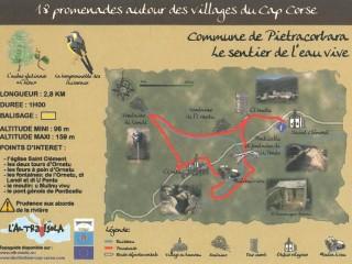 Balades Thématiques du Cap Corse/Pietracorbara