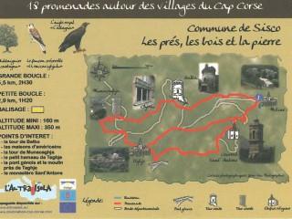 Cap Corse Inconnu : Les prés, les bois et la pierre - Sisco