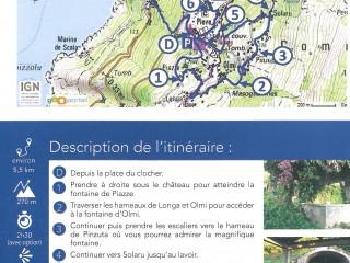 Randonnées & Balades - Les Fontaines - Cap Corse Capicorsu